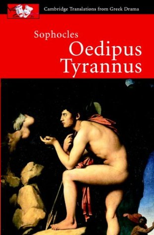 Sophocles: Oedipus Tyrannus   2003 edition cover