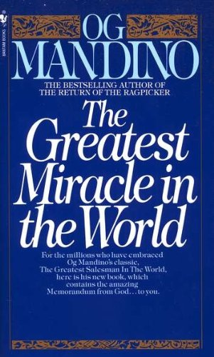 Greatest Miracle in the World   1975 9780553279726 Front Cover