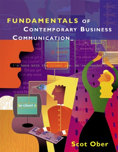 Fundamentals of Business Communication  2004 9780618073726 Front Cover