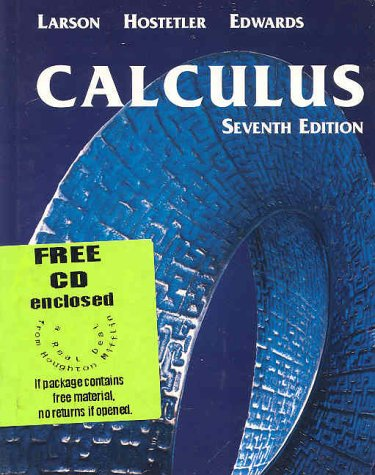 Calculus with Learning Calculus with Analytic Geometry 7th 2002 9780618239726 Front Cover