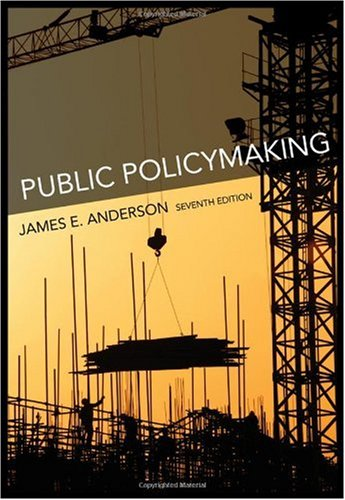 Public Policymaking  7th 2011 edition cover