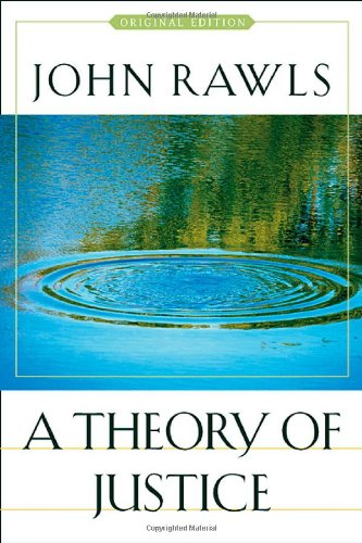 Theory of Justice   1971 edition cover