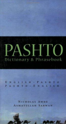 Pashto Pashto-English, English-Pashto Dictionary  2002 edition cover