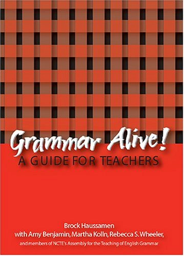 Grammar Alive! A Guide for Teachers  2003 edition cover