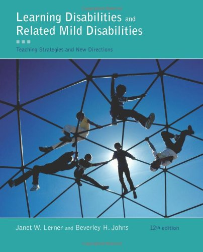 Learning Disabilities and Related Mild Disabilities  12th 2012 edition cover