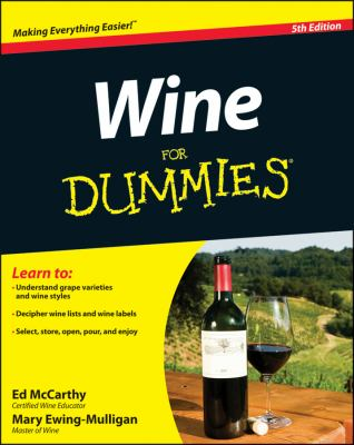 Wine for Dummies�  5th 2012 edition cover