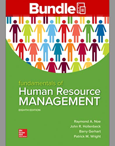 FUND.OF HUMAN RESOURCE...(LL)-W/CONNECT N/A 9781260691726 Front Cover