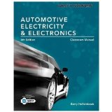 Today's Technician: Automotive Electricity and Electronics Classroom Manual  2014 9781285425726 Front Cover