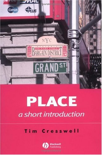 Place A Short Introduction  2004 edition cover