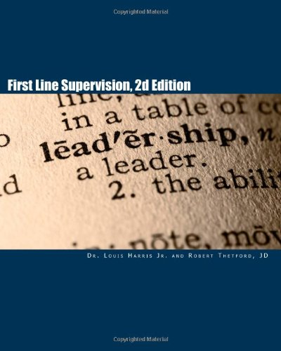 First Line Supervision, 2d Edition  N/A edition cover