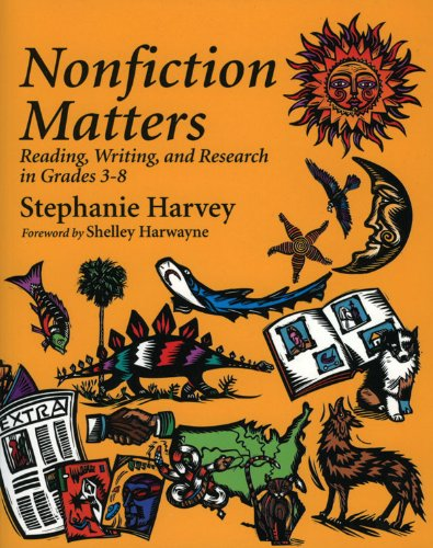 Nonfiction Matters Reading, Writing, and Research in Grades 3-8  1998 edition cover