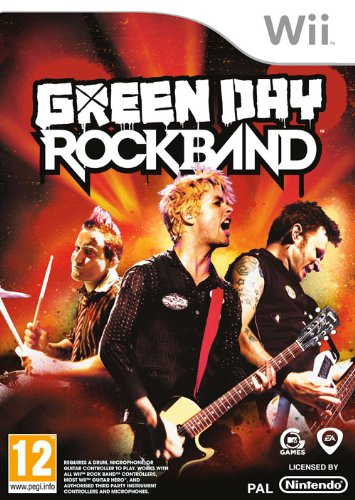 Green Day: Rockband (Wii) Nintendo Wii artwork