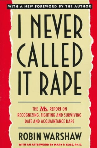 I Never Called It Rape  60th (Reprint) edition cover