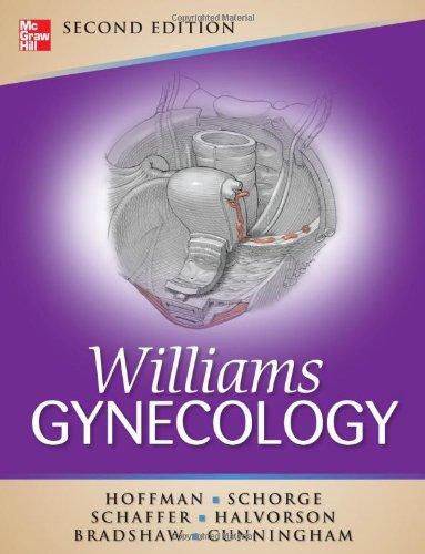 Williams Gynecology  2nd 2012 edition cover