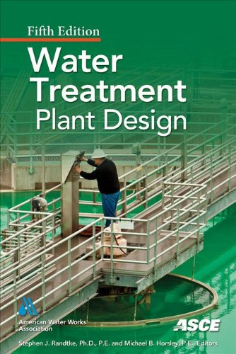 Water Treatment Plant Design  5th 2012 edition cover
