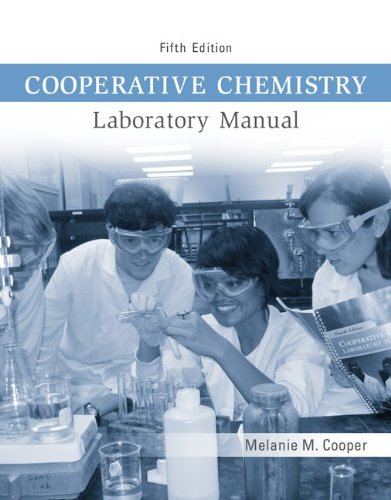 Cooperative Chemistry Lab Manual  5th 2012 edition cover