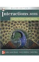 Interactions Access - Listening/Speaking  5th 2009 (Revised) edition cover