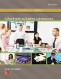 College English and Business Communication  10th 2015 edition cover