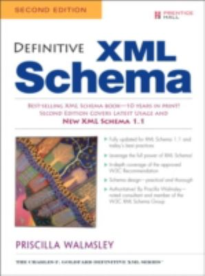 Definitive XML Schema  2nd 2013 (Revised) edition cover