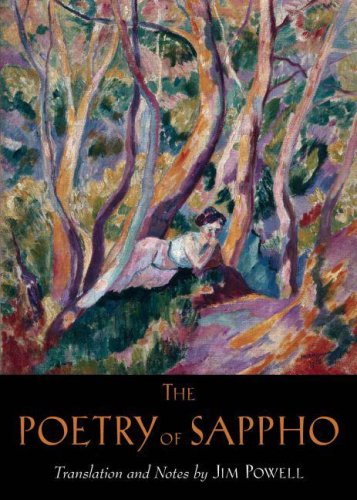 Poetry of Sappho   2007 edition cover