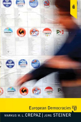 European Democracies  7th 2011 edition cover