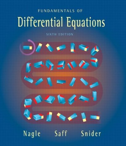 Fundamentals of Differential Equations  6th 2004 (Revised) edition cover