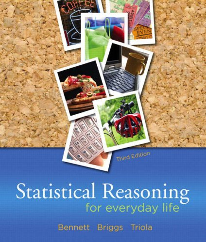 Statistical Reasoning for Everyday Life  3rd 2009 edition cover