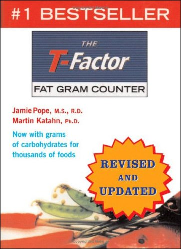 T-Factor Fat Gram Counter  Revised edition cover
