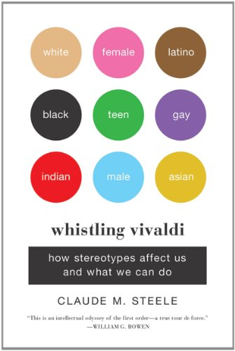 Whistling Vivaldi How Stereotypes Affect Us and What We Can Do  2011 9780393339727 Front Cover
