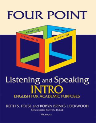 Four Point Listening and Speaking Intro English for Academic Purposes  2011 edition cover