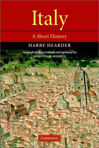 Italy A Short History 2nd 2001 (Revised) edition cover