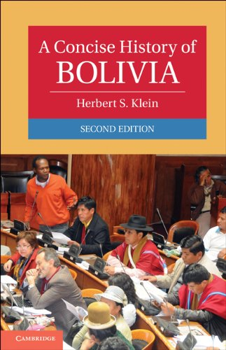 Concise History of Bolivia  2nd 2011 edition cover