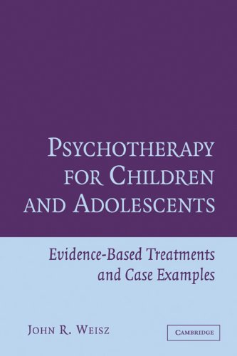 Psychotherapy for Children and Adolescents Evidence-Based Treatments and Case Examples  2003 edition cover