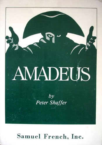 Amadeus A Drama  1981 9780573605727 Front Cover