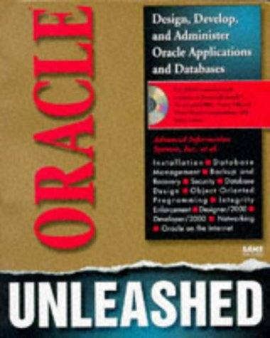 Oracle Unleashed   1996 9780672308727 Front Cover