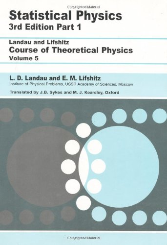 Statistical Physics  3rd 2009 (Revised) edition cover