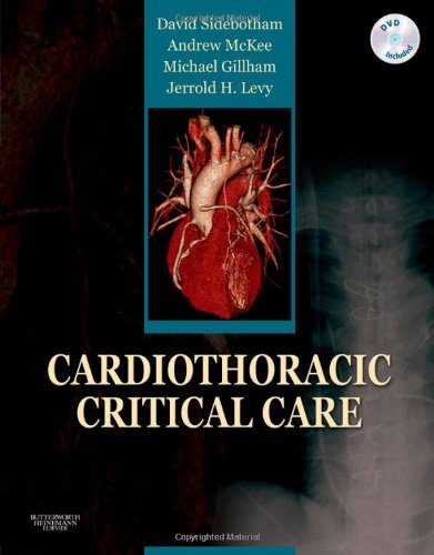 Cardiothoracic Critical Care   2007 9780750675727 Front Cover
