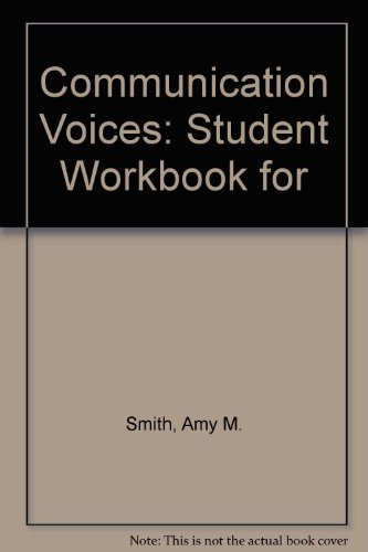 Communication Voices Workbook Revised  9780757519727 Front Cover