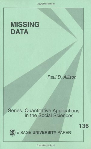Missing Data   2001 edition cover