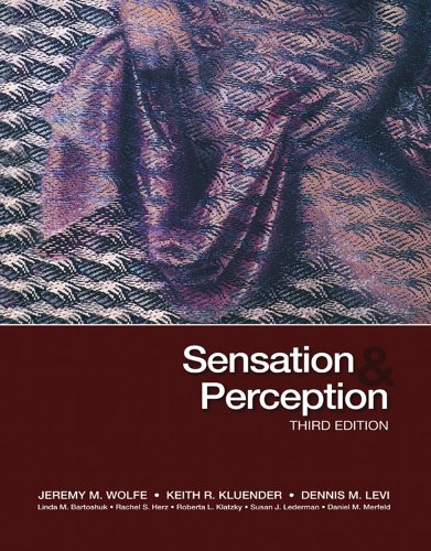 Sensation and Perception  3rd 2012 (Revised) edition cover
