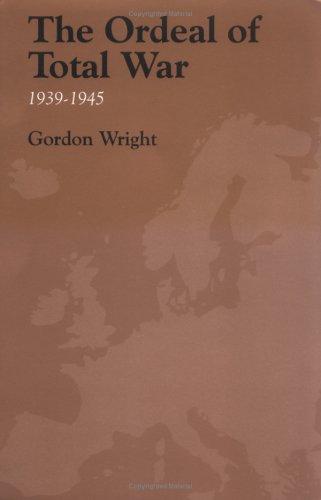 Ordeal of Total War, 1939-1945  Reprint edition cover