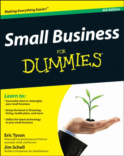Small Business for Dummies�  4th 2012 edition cover