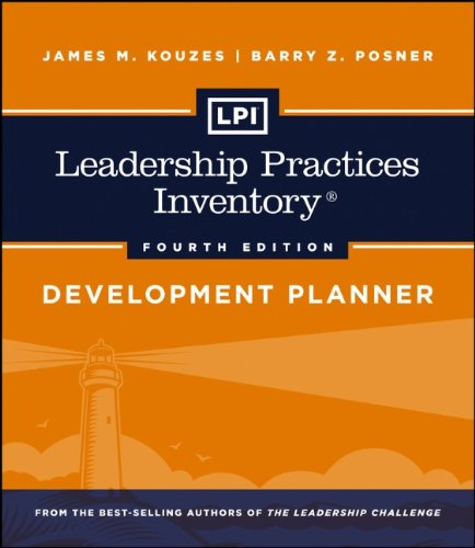 Leadership Practices Inventory Development Planner 4th 2013 9781118182727 Front Cover