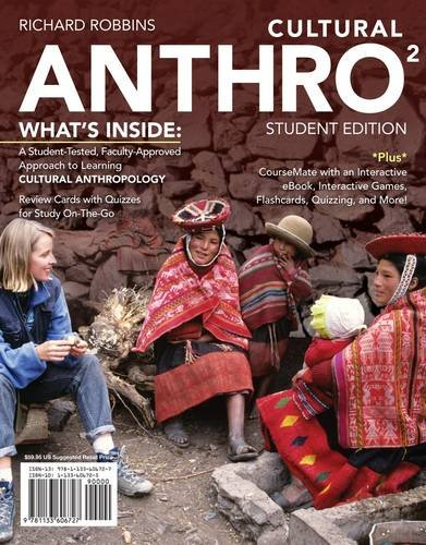 Cultural Anthro  2nd 2014 (Student Manual, Study Guide, etc.) edition cover