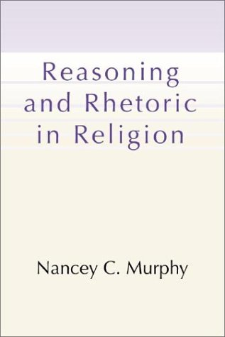 Reasoning and Rhetoric in Religion  N/A edition cover