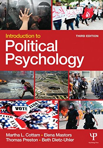 Introduction to Political Psychology  3rd 2016 (Revised) edition cover
