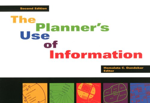 Planner's Use of Information  2nd 2003 (Revised) edition cover