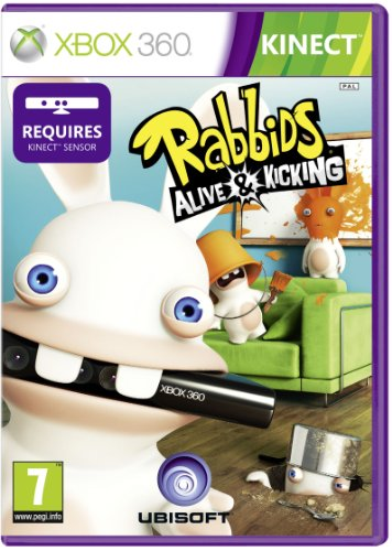 Rabbids: Alive and Kicking - Kinect Required (Xbox 360) Xbox 360 artwork