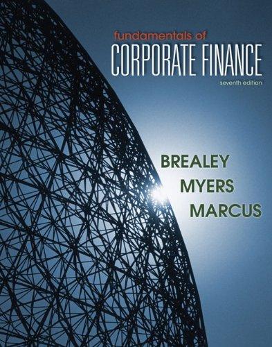 Fundamentals of Corporate Finance  7th 2012 edition cover