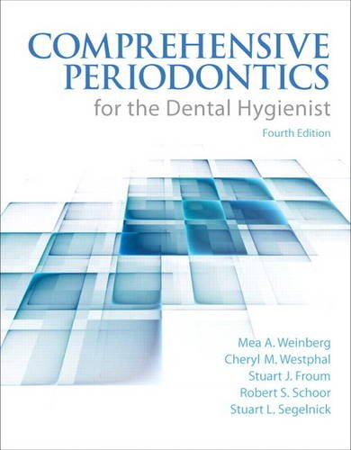Comprehensive Periodontics for the Dental Hygienist  4th 2015 edition cover
